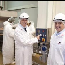 Left to Right Prime Minister John Key & Tegel CEO Andrew Stevens