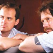 Broads!: Danny (Will Birch) and Bernie (Michael Lawrence) contemplating the complications of the female species.